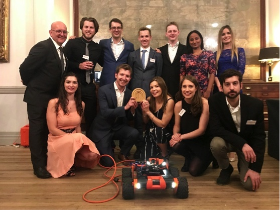 Q-Bot winning the Ashden Award